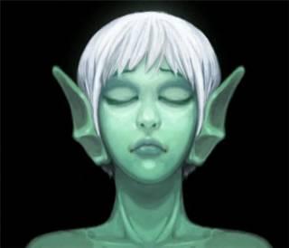 Naija, the game's main protagonist.