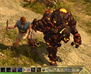 The Core Dweller from Titan Quest