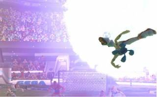 A player performing the Killer Kick.