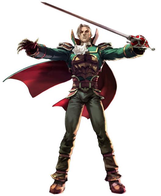 Raphael's appearance in Soul Calibur III, embracing a vampire-esque appearance.