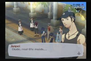 Junpei's character is easiest to understand and the reason the player buys into much of the story.