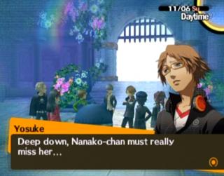 Nanako's storybook vision of Heaven.
