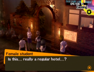 Featuring...the love hotel.
