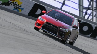 The Evolution X, as seen in Gran Turismo 5: Prologue
