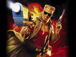 The titular character in Duke Nukem 3D.
