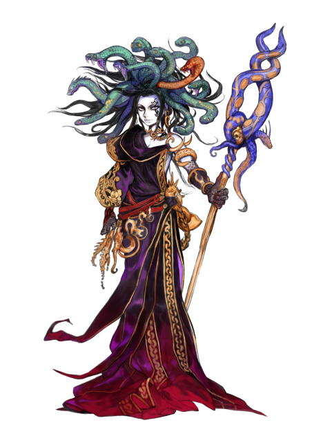 Medusa was given a whole new design for her return.