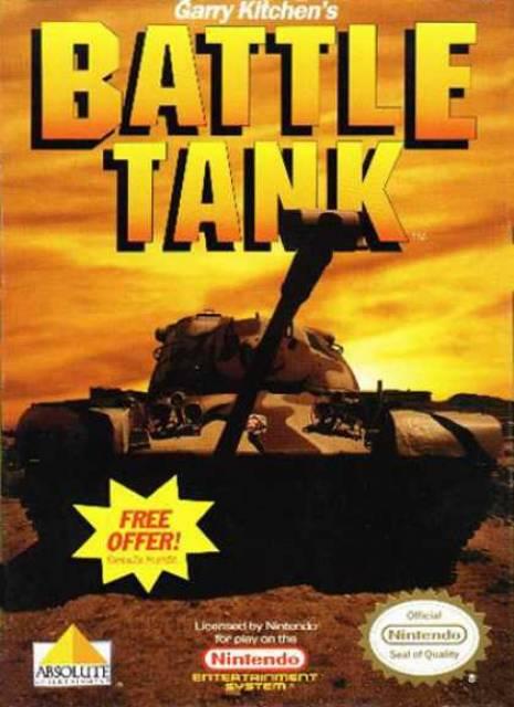 Garry Kitchen's Battletank