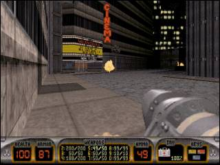 The first level of the game.