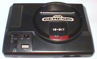The Sega Genesis, the U.S. region release.