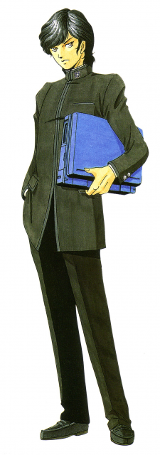 Akemi Nakajima, one of the game's two protagonists.