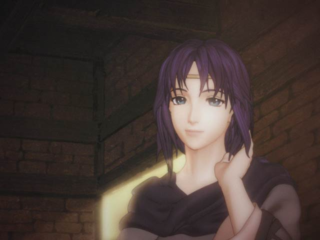 Elena as she appears in Ike's dream at the start of Path of Radiance.