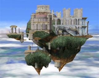 Temple, infamous for being one of the largest stages in the series.