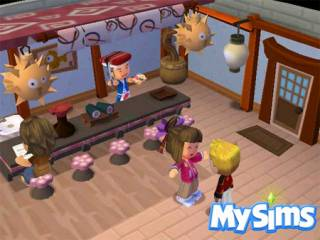 MySims for the Wii