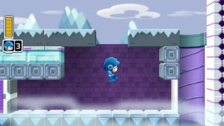 Mega Man Powered Up, a 2.5D remake for the PSP.