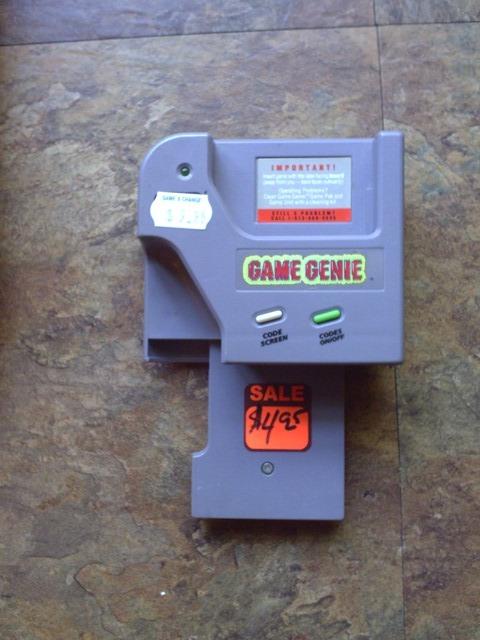 Game Boy Game Genie