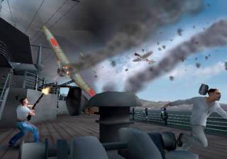 The attack of Pearl Harbor sets up the game