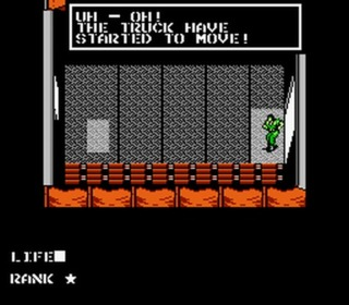 Metal Gear for the NES is well known for its Broken English dialog.