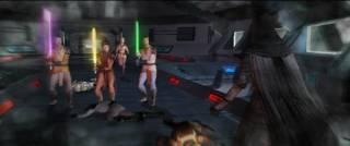 Jedi Strike team surrounding Revan