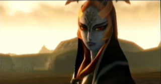 Midna's true form is revealed after she is revived by the Light Spirits of Hyrule.