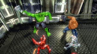 Marvel Ultimate Alliance on the Xbox 360