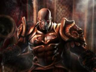 Kratos, the protagonist of the God of War series.
