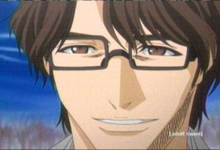 Aizen as he reveals his real identity.