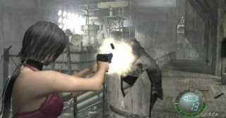 Ada unleashing fire at the docks.