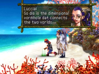 Chrono Cross was a quirky game. But a good game.