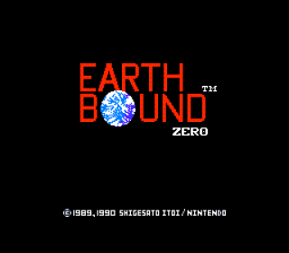 Mother is known as EarthBound Zero in North America.