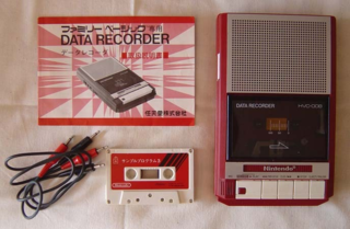 Famicom Data Recorder.