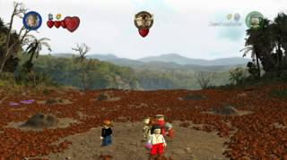 A scene from Lego Indiana Jones and the Kingdom of the Crystal Skull.