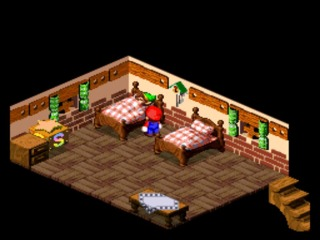 Link's cameo in Super Mario RPG