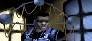 Wesley Snipes in his video game representation.