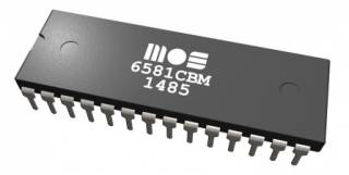 The MOS 6581 chip