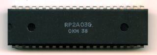 Ricoh 2A03, the sound chip of the NES.