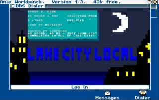 Lake City Local; the first BBS