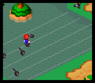 Playing the Melody Bay minigame