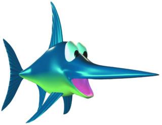 Enguarde the Swordfish