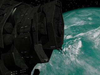 Halcyon-class Cruiser                                    UNSC Pillar of Autumn