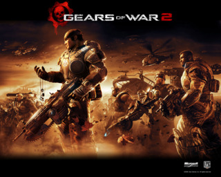 One of the first released promos for Gears of War 2.