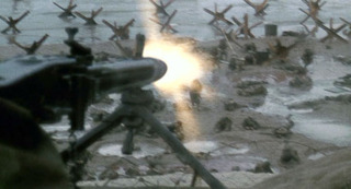 The MG42's suppressive power in action