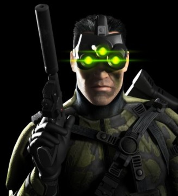 Fisher with Goggles