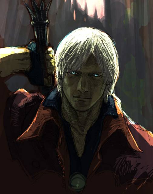 Dante - half human, half demon!