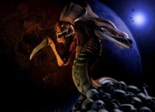 Zerg Hydralisk.