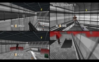 Being able to play a FPS' multiplayer in the living room was special.