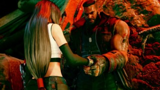 Some of my favorite moments in Remake were between Barret and Tifa.