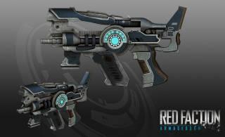 Laser Pistols