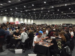 Read what competing in a Magic the Gathering tournament was like on DinoCity's blog!