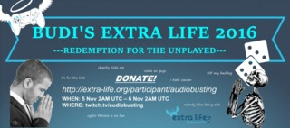 audioBusting and Wrighteous86 are just a few of the Extra Life participants this year.