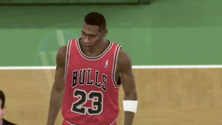 xanadu's NBA 2K11 blog also reminded me how Michael Jordan had hair at one point.